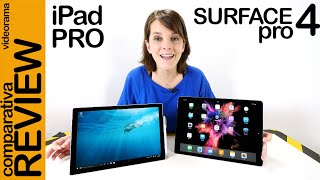 iPad Pro vs Surface Pro 4 review comparativa en español