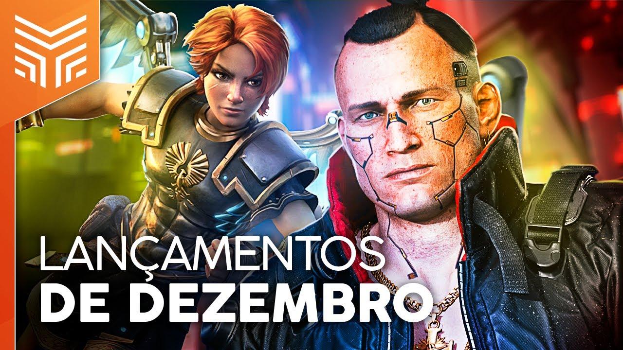 LANÇAMENTOS DE JOGOS DE DEZEMBRO/2020: Cyberpunk 2077, Immortals, Temtem e mais!