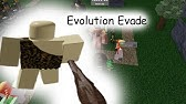Code For Roblox Evolution Evade Youtube
