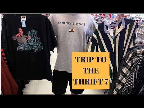 Hamilton Thrifting Ft. Steven | Vintage 90s T-shirts and Tommy found!