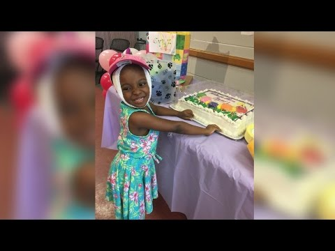 5-year-old survivor of vicious pitbull attack celebrated by community