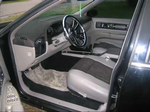 Custom Black Suede Interior 1996 Impala Ss Youtube