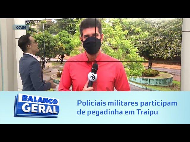 Video viralizou: Policiais militares participam de pegadinha em Traipu
