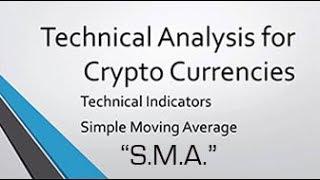 SMA - 'Simple Moving Average' Crypto Technical Analysis: