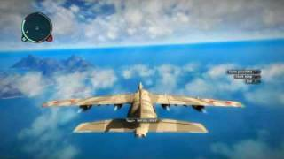 Just Cause 2 Hijacking The Biggest Plane/Military Transport Hijack
