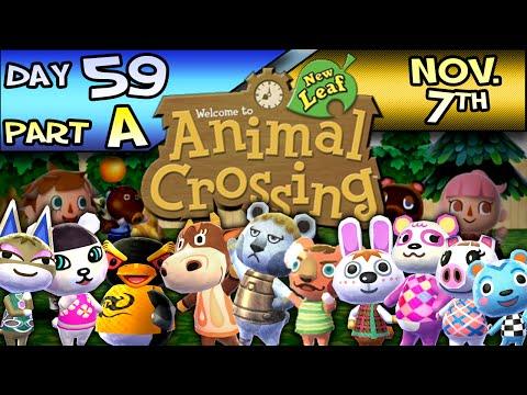 Animal Crossing: New Leaf – Day 59 : Part A – Nov. 7 – Cherry Cola Seminar!