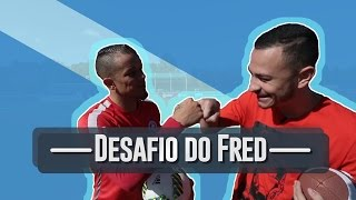 DESAFIO DO TRAVESSÃO COM D'ALESSANDRO