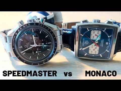 Amazing Chronographs - Omega Speedmaster Vs TAG Heuer Monaco