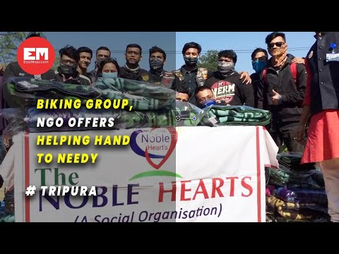 Tripura: NGOs join hands to help needy stay warm in winter