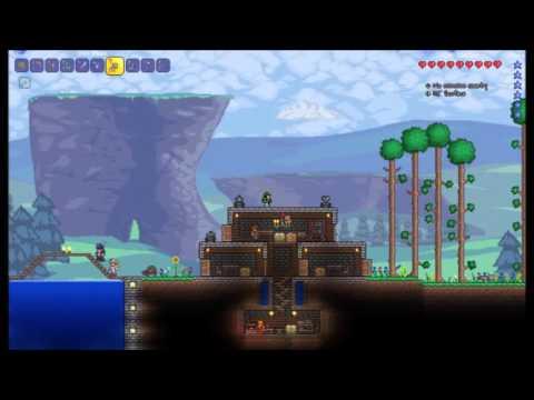 Terraria 1.3 Infinite Water Trick Tutorial