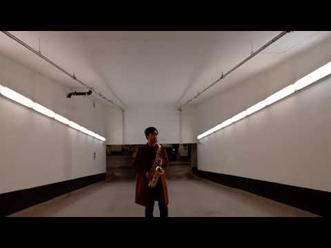 Midnight saxophone improv in a Toronto parkade (feat. interrupting car)