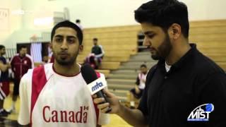 Player Interview: Moazim Mirza - Canada B