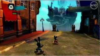 Epic Mickey 2 - Gameplay 1ª Hora de Juego Comentada en Español Parte 3/4 - HD 720p