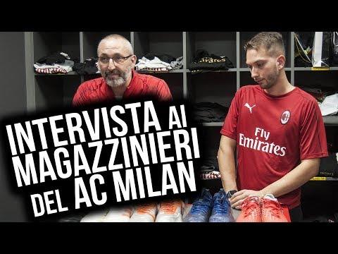 INTERVISTA ai magazzinieri del AC MILAN | Interview