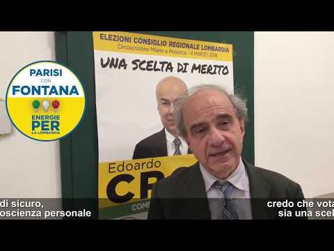 Intervista a Dario Fertilio: perchè votare Edoardo Croci