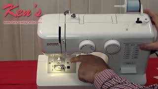 видео Швейная машина New home 1712