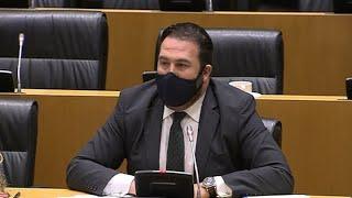 "Iñarritu (Bildu) al padre de un Guardia Civil asesinado por ETA: ""Mi solidaridad"""