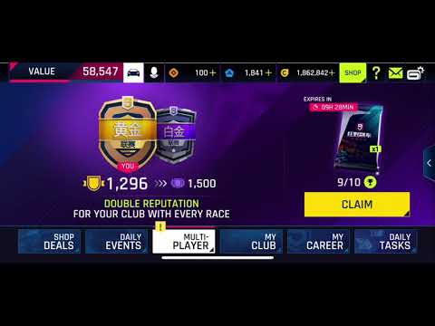 Download ASPHALT 9 CHINESE : Getting my first top10 in the first MP season of Chinese Asphalt 9 beta IOS 😂