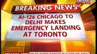 Air India flight makes emergency landing in Toronto due to engine failure