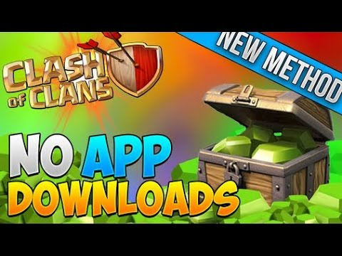 How To Get FREE Gems EASY! | Clash Of Clans | International 2015 - NO APP DOWNLOADING! NEW METHOD