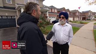 Territoire convoité en banlieue de Toronto