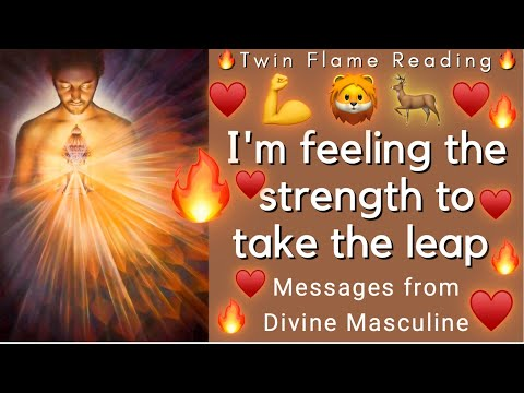 Download I AM FEELING THE STRENGTH TO TAKE THE LEAP!!!🦁 💪 ♥️🔥(Twin Flame Reading)