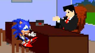 Sonic Meets With His Agent