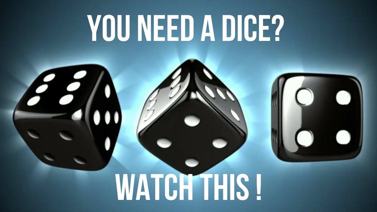 How To Make Paper Dice - Watch This!