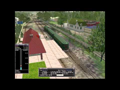 MSTS - London & Port Stanley Railway full route run