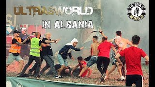 Ultras World in Albania - KF Tirana vs Partizani 29.09.2019