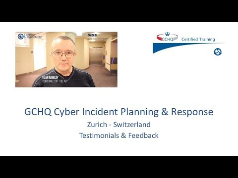 Cyber Security Training - GCHQ Certified - Zurich Sessions - cm-alliance.com