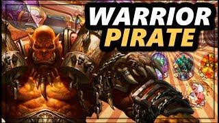 Warrior Pirate Meta Deck!   Hearthstone Gameplay