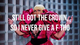 Nicki Minaj — Runnin (Lyrics - Verse)