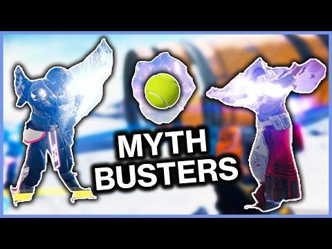 Destiny MYTHBUSTERS! - NOVA BOMB TENNIS!? + MORE! - Destiny Gameplay