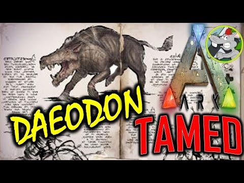 ARK Daeondon - TAMED - Creature Info - Spawn Code Xb1 PS4 PC