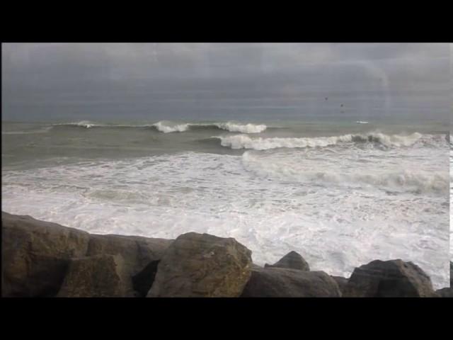 Temporal de mar molt dur al Maresme - Gener 2017
