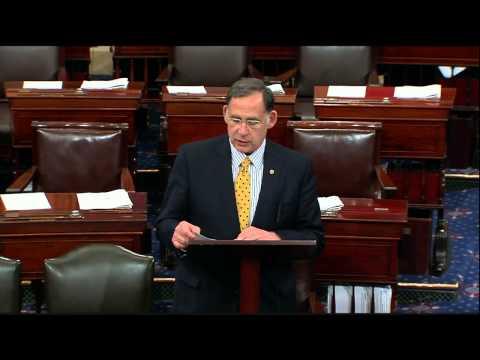 Senator Boozman Pay Tribute to Congressman John Paul Hammerschmidt