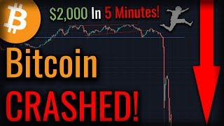 Bitcoin CRASHED! - Has The Bitcoin Rally Ended Or Is More Bullishness To Come?