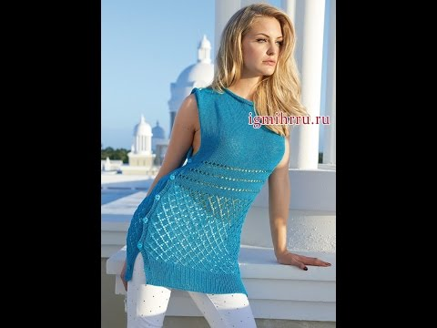 D.I.Y. трикотажная туника своими руками / tunic with his hands very simply and quickly