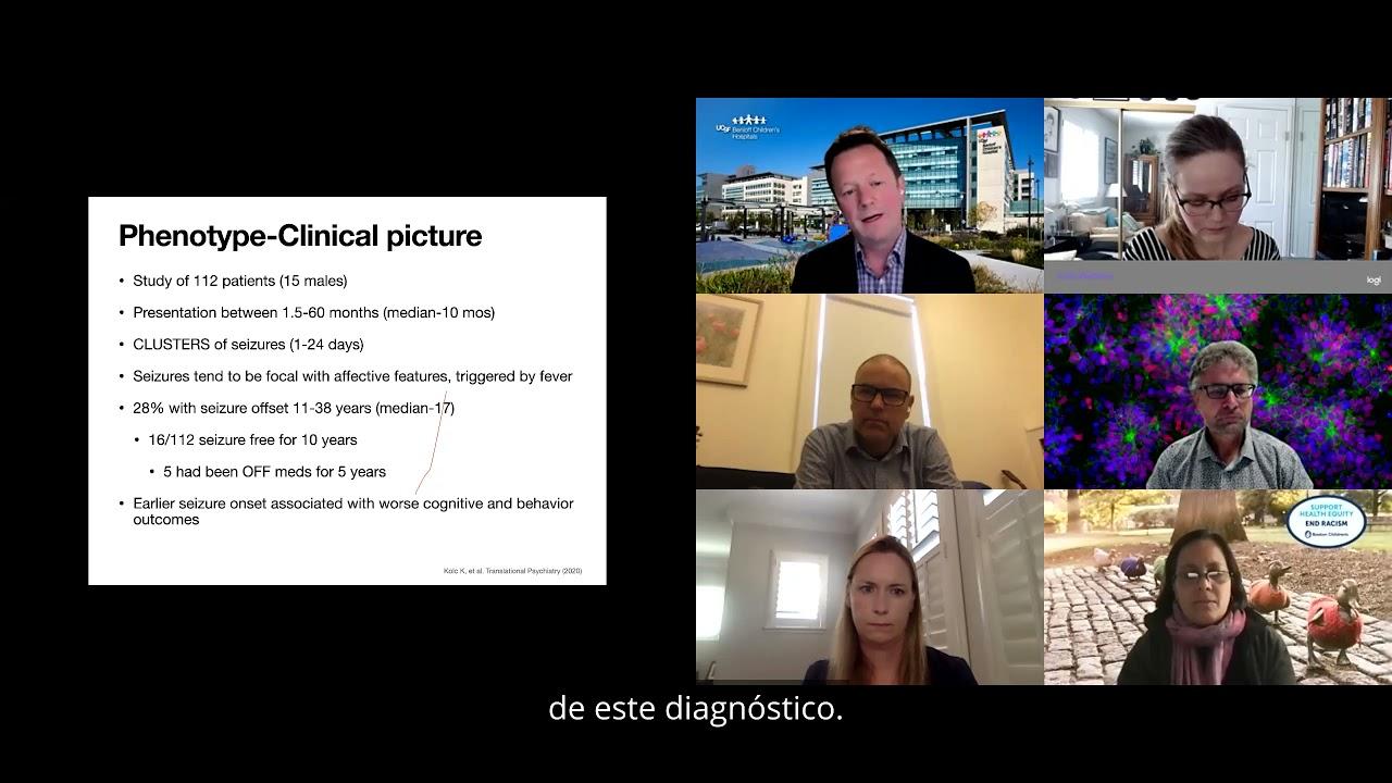 PCDH19 Epilepsy Town Hall 2021 - Spanish Subtitles