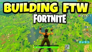 Fortnite PS4 Battle Royale BUILDING TO VICTORY- Multiplayer Console Gameplay