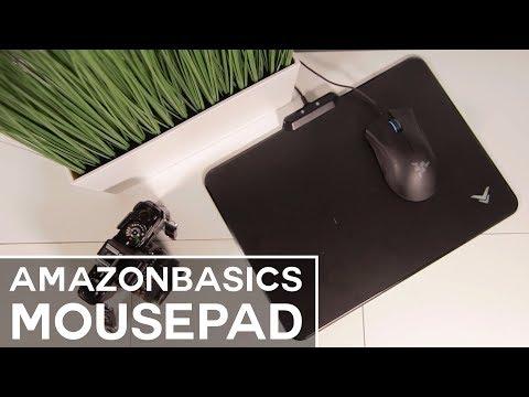 AmazonBasics RGB Mousepad - Review
