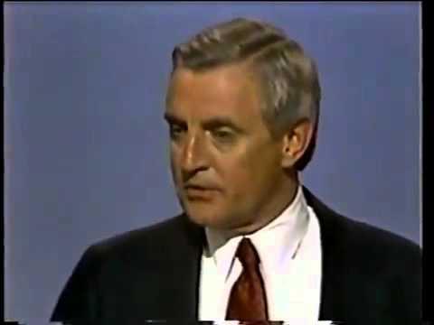Walter Mondale Pledges To Raise Taxes - 1984