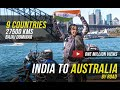 India to Australia on a Motorcycle | 27,500 kms | 9 Countries | Candida Louis