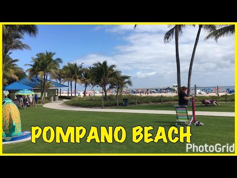 POMPANO BEACH (FLORİDA VLOG#3)