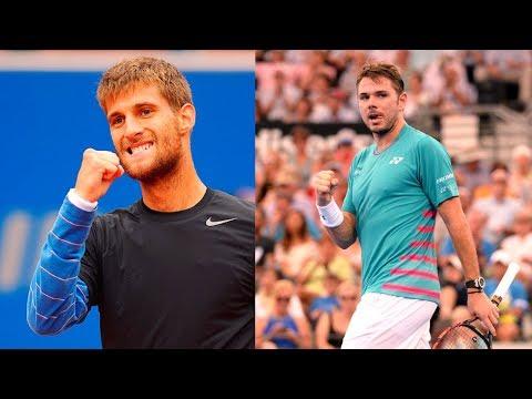 STAN Wawrinka vs Martin Klizan ATP SOFIA 2018 HD Highlights
