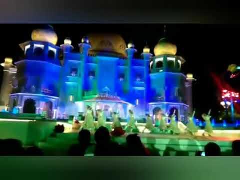 Dubai Bollywood Park Raj Mahal show