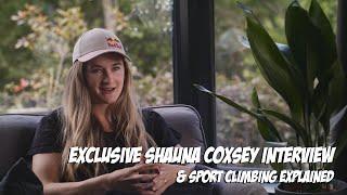 Olympic Climbing starts tomorrow and Shauna Coxsey Interview