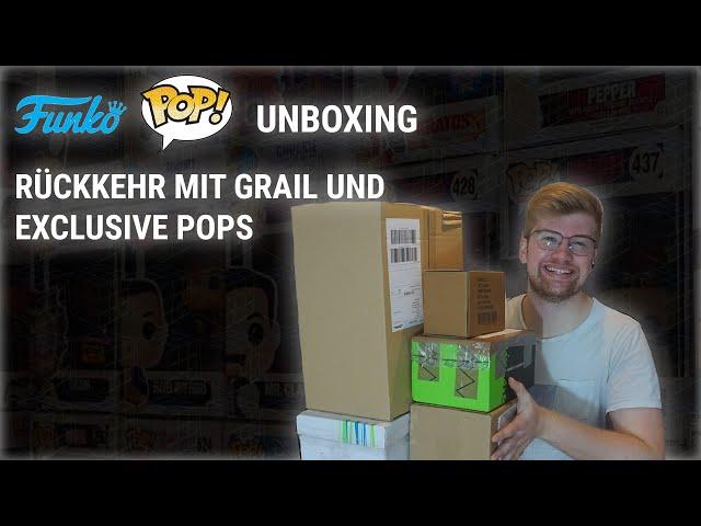 RÜCKKEHR MIT GRAIL UND EXCLUSIVE POPS - FUNKO UNBOX