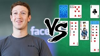 Mark Zuckerberg vs Solitaire | The Higher Lower Game